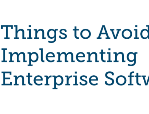 10 Things to Avoid When Implementing Enterprise Software